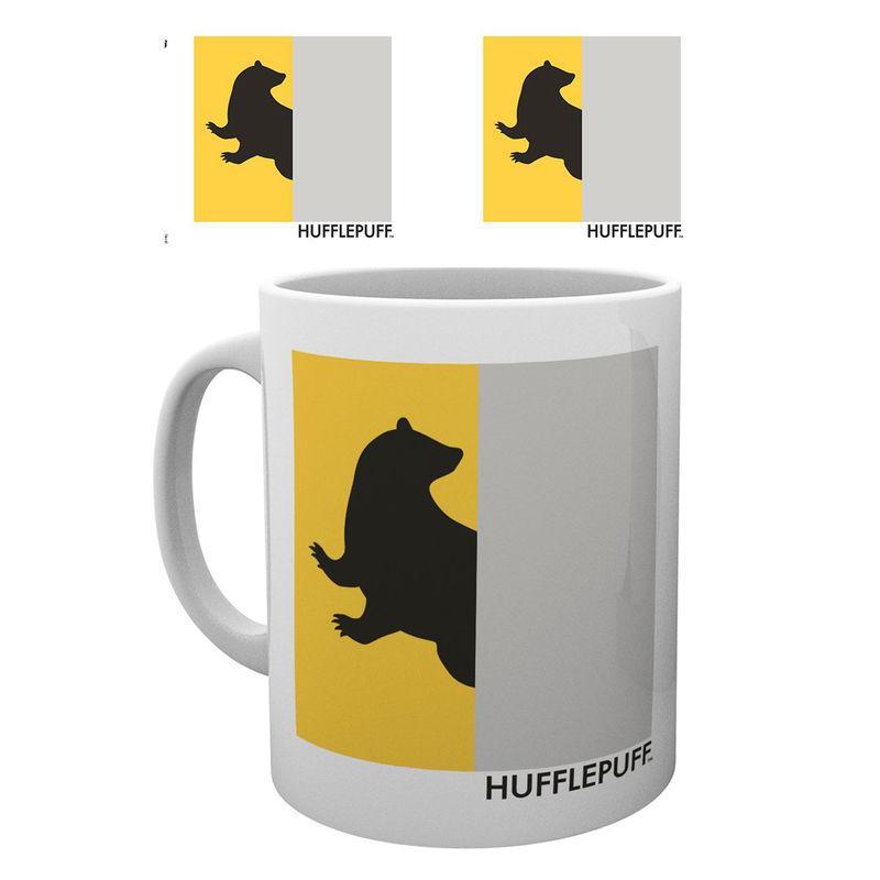Taza Harry Potter Hufflepuff Minimalist
