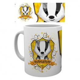 Taza Harry Potter Hufflepuff Paint