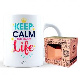 Taza Keep Calm And Enjoy Life