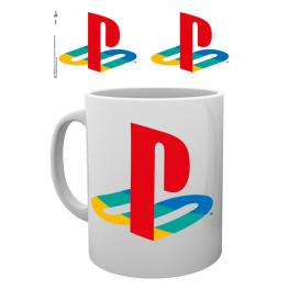 Taza Logo Playstation Colour