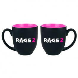 Taza Logo Rage 2 Negra