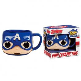 Taza Pop! Home Marvel Capitan America