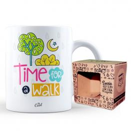 Taza Time For A Walk