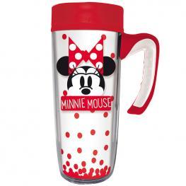 Taza Viaje Minnie Disney Doble Pared