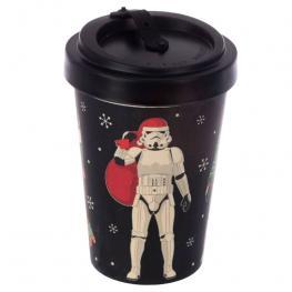 Taza Viaje Navidad Original Stormtrooper Bambu