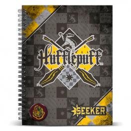 Cuaderno A4 Harry Potter Quidditch Hufflepuff