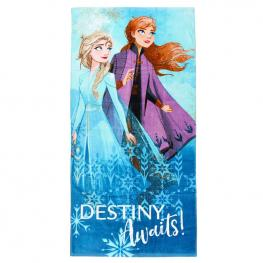 Toalla Anna y Elsa Frozen 2 Disney Algodon
