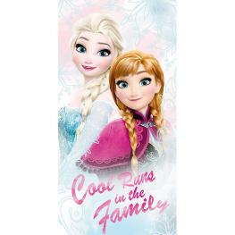 Toalla Frozen Disney Cool Runs Algodon