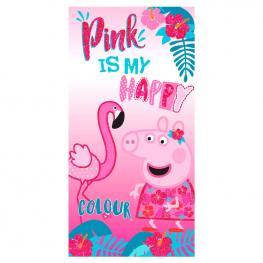 Toalla Pink Peppa Pig Microfibra