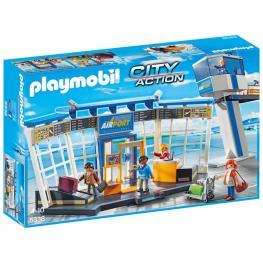 Torre Control y Aeropuerto Playmobil City Action