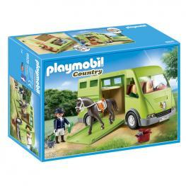 Transporte Caballo Playmobil Country