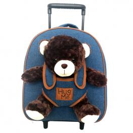 Trolley Hug Me Peluche Oso 33Cm