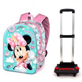 Trolley Minnie Unicorn Disney 48Cm