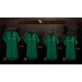 Tunica Quidditch Slytherin Harry Potter