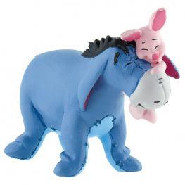 Figura Eeyore + Piglet Winnie The Pooh Disney
