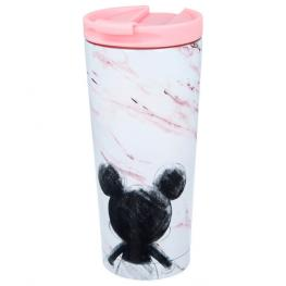 Vaso Cafe Acero Inoxidable Mickey Disney 425Ml