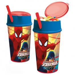 Vaso Spiderman Marvel Snack