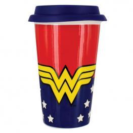 Vaso Viaje Wonder Woman Dc Comics