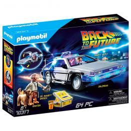 Vehículo Delorean Regreso Al Futuro Playmobil