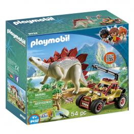 Vehiculo Explorador Con Estegosaurio Playmobil The Explorers