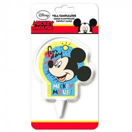 Vela Cumpleaños Mickey Disney