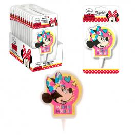 Vela Cumpleaños Minnie Disney