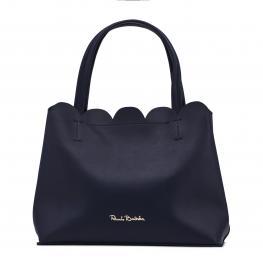 Bolsos de Mano - Beegees - Rb18S - 250 - 3 Notte - Color: Azul