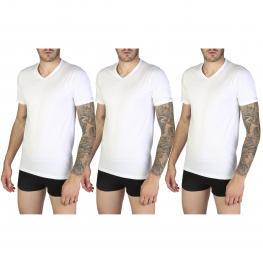 Camisetas - Pc3 Siviglia 3Pack Bianco - Color: Blanco