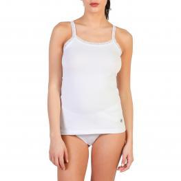 Camisetas Sin Mangas - Pc_Camelia_A - Pc Camelia Bianco - Color: Blanco
