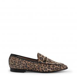 Mocasines - 1173131 Leopardo - Color: Marrón