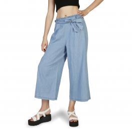 Pantalones - Samona Azzurro - Color: Azul