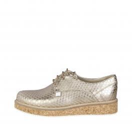 Sneakers - 79S555 92 Gold - Color: Amarillo