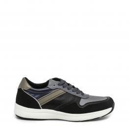 Sneakers - Derek Black - Green - Color: Negro