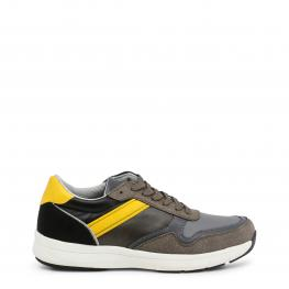 Sneakers - Derek Taupe - Yellow - Color: Marrón
