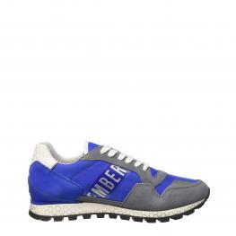 Sneakers - Fend - Er2076 - Low Grey - Lblue - Color: Azul