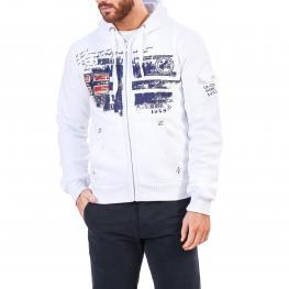 Sudaderas - Fohnson Man White - Navy - Color: Blanco