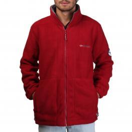 Sudaderas - Korleon Man Red Grey - Color: Rojo
