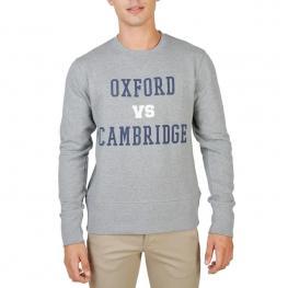 Sudaderas - Oxford - Fleece - Crewneck - Grey - Color: Gris