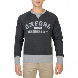 Sudaderas - Oxford - Fleece - Raglan - Grey - Color: Gris