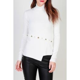 Suéteres - 1G12Pa - Y3M1 Z06 - Color: Blanco