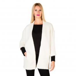 Suéteres - Pga16407Cd Cream - Color: Blanco