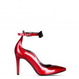 Tacones - Angelica Bordeaux - Nero - Color: Rojo