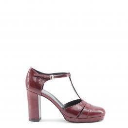 Tacones - Cloe Bordo - Color: Rojo