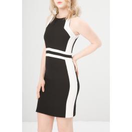 Vestidos - Benvenuta Black - Ecru - Color: Negro