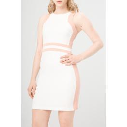 Vestidos - Benvenuta Ecru - Powder - Color: Blanco