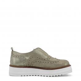 Zapatos Bajos - Geraldina Oro - Color: Amarillo