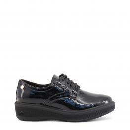 Zapatos Con Cordones - 47517 Black - Color: Negro