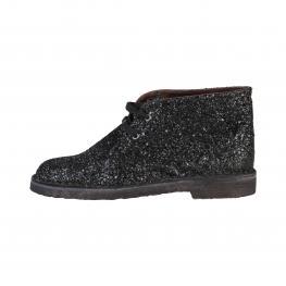 Zapatos Con Cordones - Anja Nero - Color: Negro