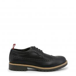 Zapatos Con Cordones - Bradford Black - Color: Negro