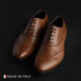 Zapatos Con Cordones - Isaie Cuoio - Color: Marrón